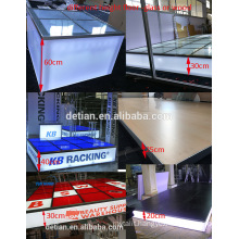 Detian Display offer modular media stage, customized portable stage for exhibition event