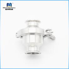 Válvula de retención de acero inoxidable de grado alimenticio con abrazadera mini