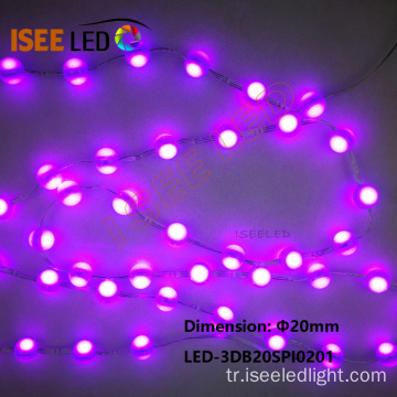 12V DC SMD RGB 5050 LED Top Dize