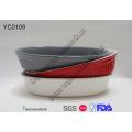 Colorful Oval Baking Dish Set