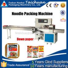 Instant Noodle Packaging Horizontale Spaghetti Flow Verpackungsmaschine TCZB-250X (2015 Trade Assurance Produkt heißes Verkauf Modell)