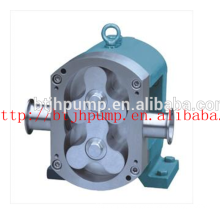 Stainless steel chemical rotor pump