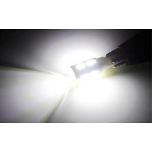 T10 12V 3W 5PCS 5050 Luz branca do carro do diodo emissor de luz