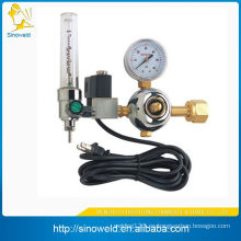 Regulador de oxígeno médico con caudalímetro