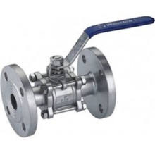 Stainless Steel Investment Casting Flange Ball Valve (Machining Parts)