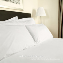 Wholesale Hotel Use 100% Cotton White Plain Queen Size Duvet Cover