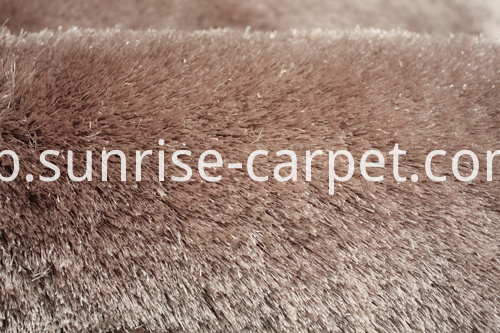 Polyester Silk Shaggy Carpet