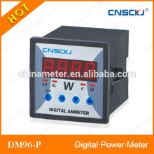 Certificat DM96-PCE 96 * 48 compteurs d'énergie numérique rf fabriqués en Chine