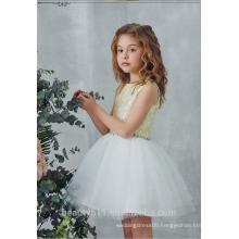 Tulle 1-6 Years Old Pari Baby Girl Dress With Rhinestone Brooch bridal flower girl dress ED699
