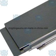 Hoja de aleación de molibdeno de fábrica fuente Tzm/Mola hoja de 0,5 mm