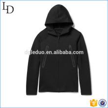 Супер удобный гибкий трикотаж приталенный мужские толстовки на молнии толстовки куртки
