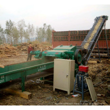 high efficiency screw wood chippers with CE