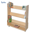 New Design Customized Book Display Rack,Hot Sale Wood Magazine Rack