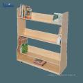 Новый Дизайн Подгонянный Стеллаж Для Выставки Товаров Книги,Горячая Продажа Деревянная Газетница