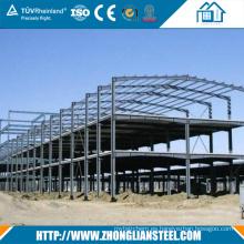 Diseño de construcción Taller / Almacén de estructuras de acero galvanizado en caliente prefabricado