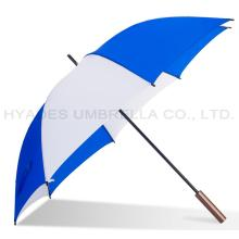 Manual Promosi Polos Ringan Open Straight Umbrella