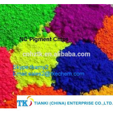NC pigment chips Blue--dispersion chips
