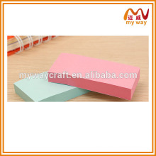 big size office sticky notepad, colorful sticky note, stationery office