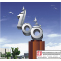 Outdoor Large Stainless Steel Sculpture