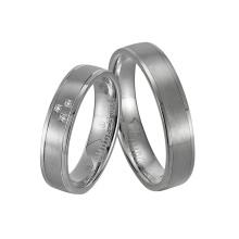 Custom Promise Couple Wedding Gift Silver Ring