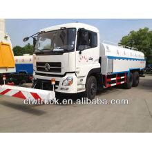 TianLong 6 * 4 camión de limpieza de carreteras con toberas de alta presure