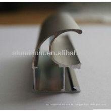 Perfil de aluminio para muebles