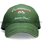 Canvas Embossed Embroidery Sandwich Sports Baseball Cap (TR039)