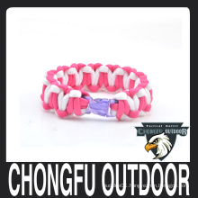 hot sale colorful 550 paracord bracelet