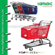 plastic supermarket cart