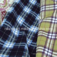 Tissu velours en polyester polyester pour chemises chaudes en hiver