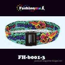 lady fashion handmade beaded belt