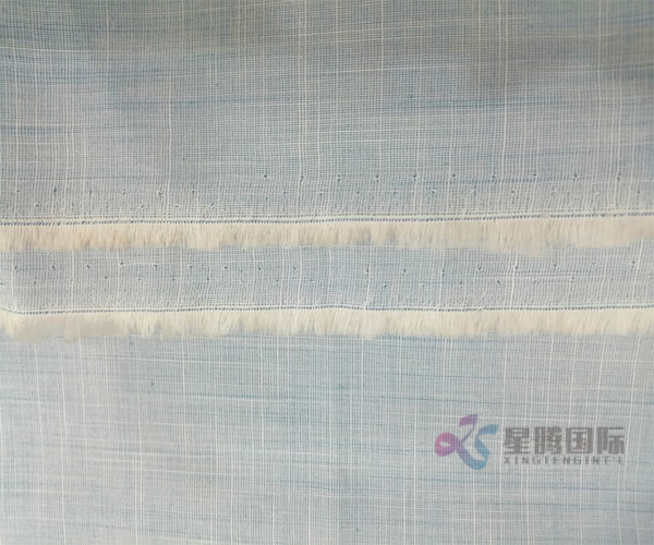 Fashion Slub Cotton Fabric