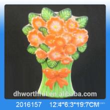 2016 новый дизайн керамический увлажнитель воздуха цветочного дизайна