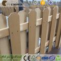 painel de parede exterior gravado 3d composto de madeira