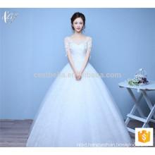 Suzhou factory elegant long married ball gown Princess Wedding Dress