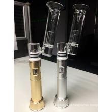 Portable Dabbing Enail DAB Pen H-Enail com 2500mAh bateria recarregável V9 G9 Henail Herb Oil Rigs Tubo de fumar de vidro