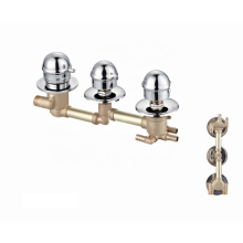 Factory faucets brass valve shower mixer tap  thermostatic bathroom faucet