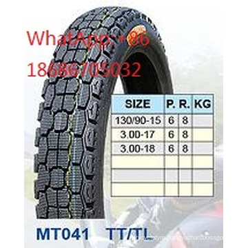 Motorcycle Tyre 130/90-15 3.00-17 3.00-18