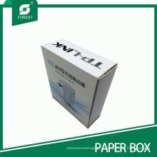 Caixa de embalagem de papel personalizada para roteador sem fio