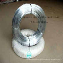 Alambre obligatorio galvanizado electro de alta calidad de la fábrica en precio competitivo