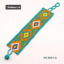 moda joyas esmalte Perla pulsera color mezclado