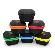 Caja de embalaje de reloj inteligente dual, cremalleras coloridas