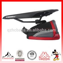 Leyenda bolsa de sillín de bicicleta personalizada bolsa de sillín de bicicleta venta caliente bolsa de sillín