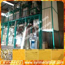 Machine de moulin à farine de maïs, machine pour broyer le maïs, broyage prix de la machine