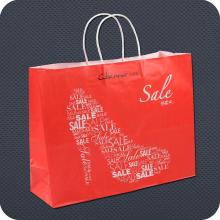 Custom Printed Retail Kraft Paper Bag