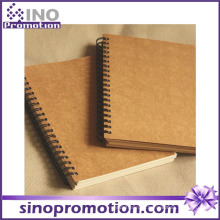 Hot vendendo barato hardcover escola Kraft Notebook