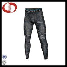 Pantalons de compression en cuir de haute qualité en Chine pour hommes