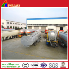 New Stainless Steel Tank Truck Trailer for Water/Milk Transport