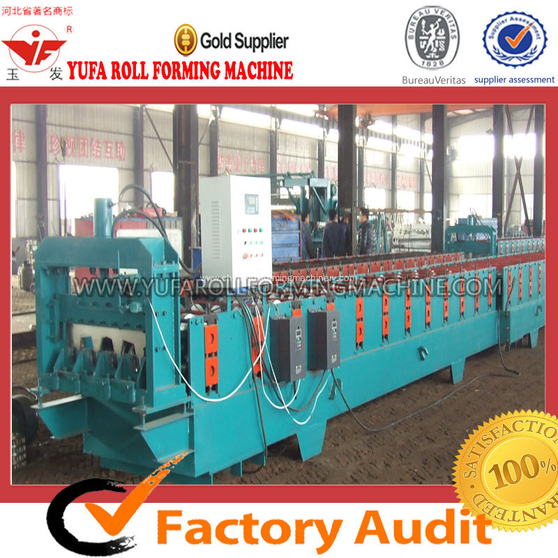 Deck Floor Forming Machine For Steel Structural Building
