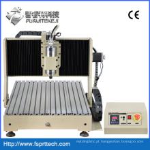 Máquina de corte de plástico Mini máquina de roteador CNC (CNC6040GZ)